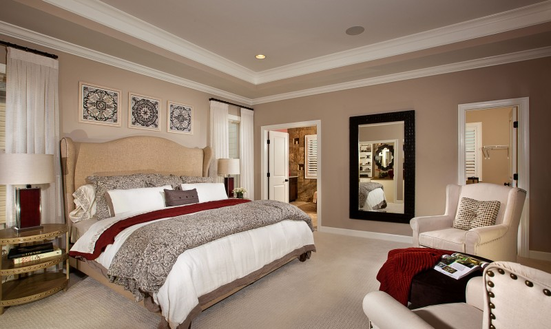 townhomes condominiums model home interiors