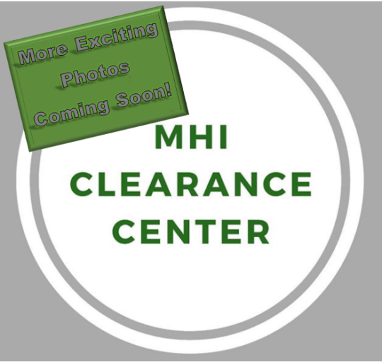 MHI Clearance Center Coming Soon
